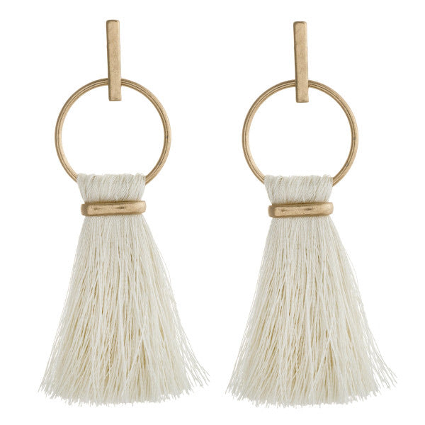 Ivory Haylee Earrings - AcousticLiving