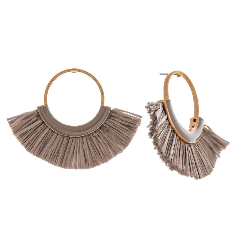 Grey Tahiti Earrings - AcousticLiving