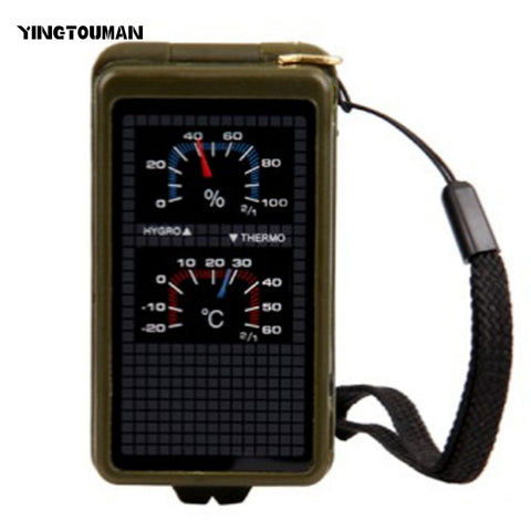 YT Portable Multi-functional Compass Camping Survival Compass Compass Camping Equipment Pointing Guide For Camping Hiking