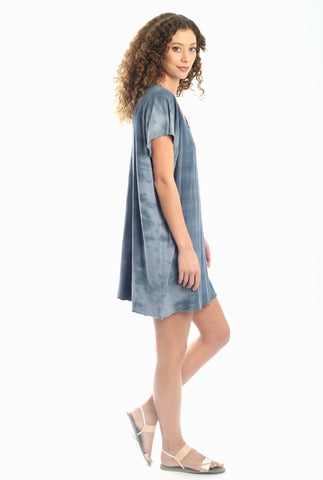 Double Rib Dress - Lapiz