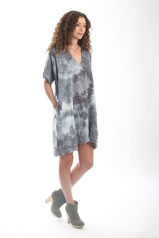 Baja Caftan Dress {short} - Stone