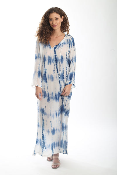 Desert Dress {Long} - Ocean Blue Twist