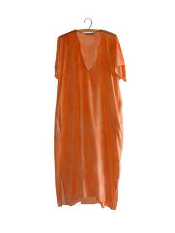 Baja Caftan Dress {long} - Saffron