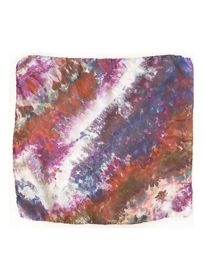 Silk Scarf : Hand-dyed