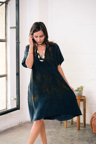 Baja Caftan Dress {long} - Water