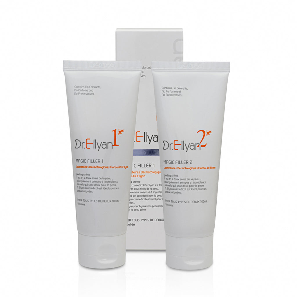 No. 1 & No. 2 Magic Peeling Set - VHB Skincare