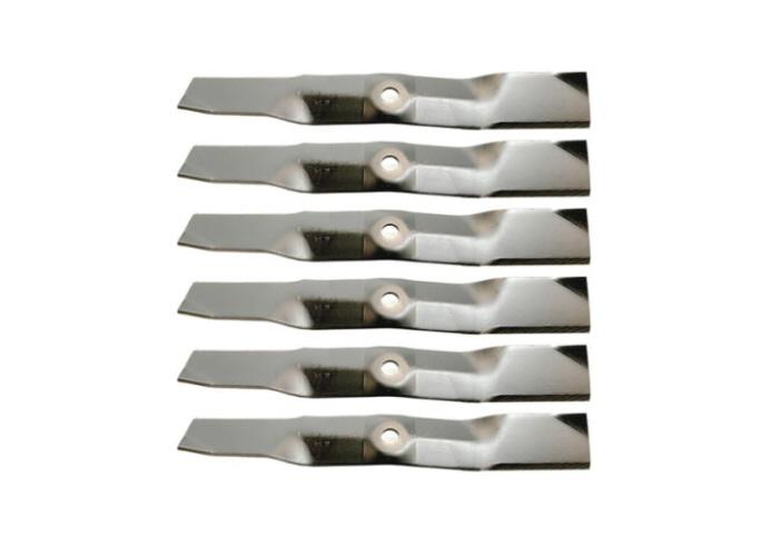 "Set of 6 John Deere Z425 Z435 Z445 54"" Zero Turn Lawn Mower Blades"