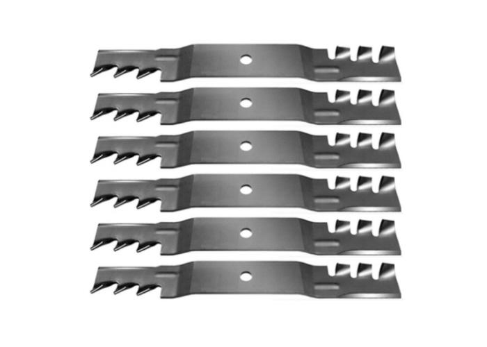 "Set of 6 Toro TimeCutter MX 5000 50"" Zero-Turn Gator Mulching Blades"
