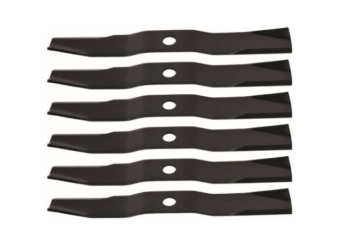 "Set of 6 Kubota B Series Compact Tractor 60"" Replacement Mower Blades"