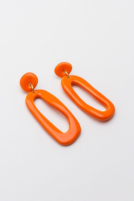 pendientes orange