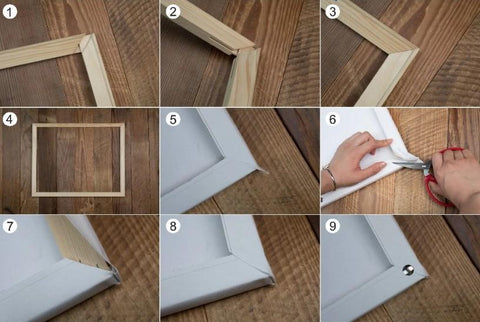 Assembling DIY Diamond Painting Frame