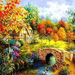 Scenes Beauty Diamond Painting