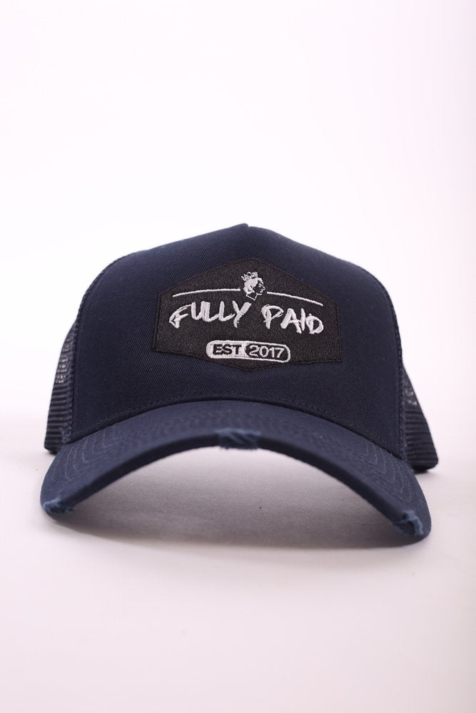 Fullypaid Est 2017 Navy blue