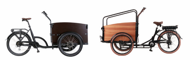 eTrikes Canada Front Mounted Electric Cargo Trikes