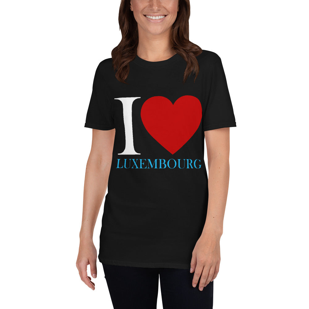 I love Luxembourg Unisex T-Shirt Luxembourg Online Shop