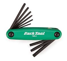 Park Tool Torx Wrench Set T7 TO T40