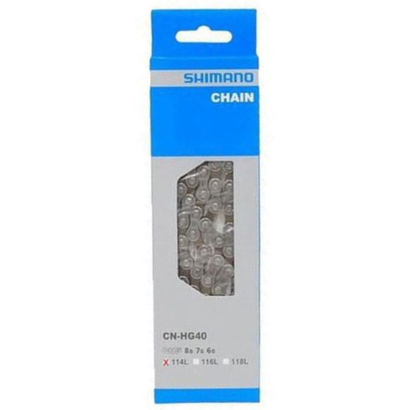 Shimano CN-HG40 Chain 6/7/8-Speed HG
