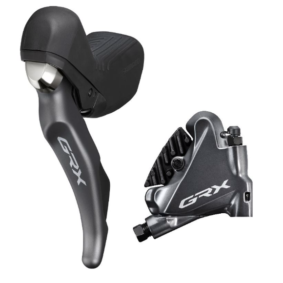 Shimano ST-RX810 STI Shifter Left with BR-RX810 Rear Calliper 2-Speed
