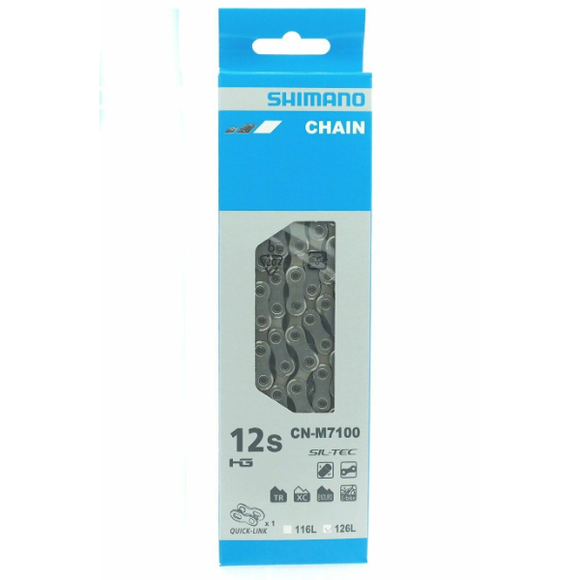 Shimano CN-M7100 Chain 12-Speed SLX with quick Link
