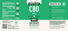 Load image into Gallery viewer, CBDistillery - CBD Oil Isolate Tincture 250mg