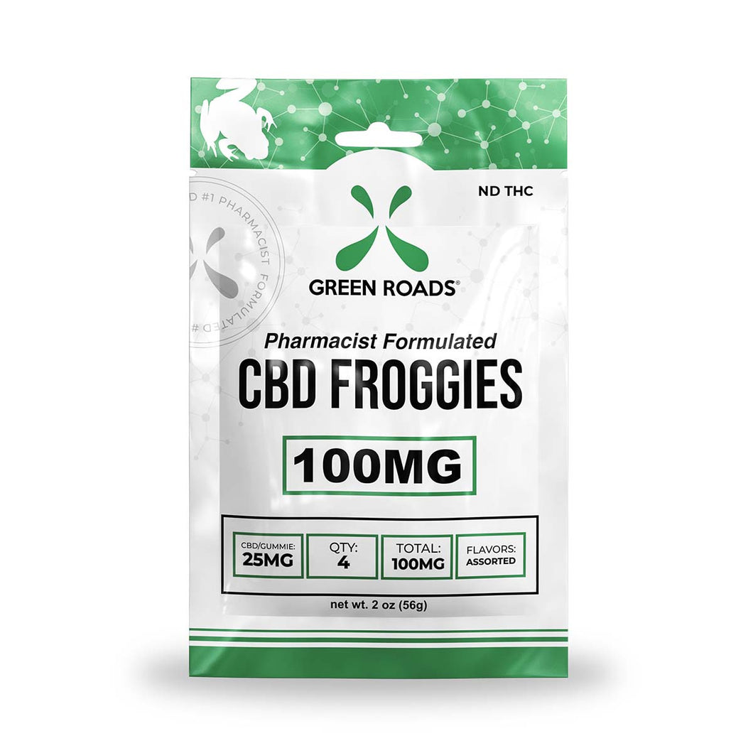 Green Roads - CBD Froggies 100mg