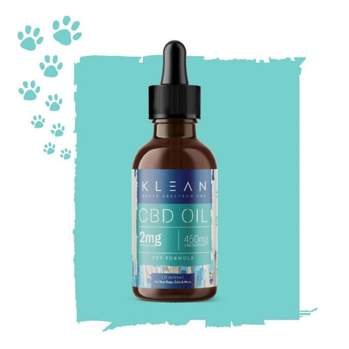 Klean Hemp - CBD Pet  Oil Tincture 30ml For Sale