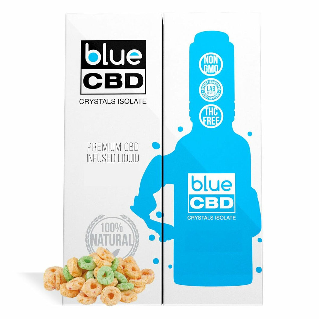 Blue CBD - Tincture Crystal Isolate Oil Apple Ring Flavor 30ml