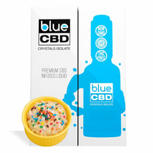 Load image into Gallery viewer, Blue CBD - Tincture Crystal Isolate Oil Birthday Cake Flavor 30ml