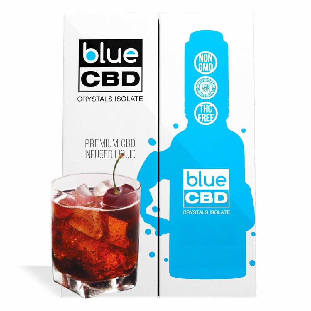 Blue CBD - Tincture Crystal Isolate Oil Black Cherry Cola Flavor 30ml