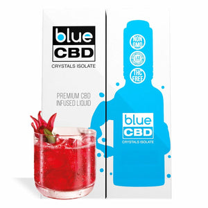 Blue CBD - Tincture Crystal Isolate Oil Blackberry Mojito Flavor 30ml