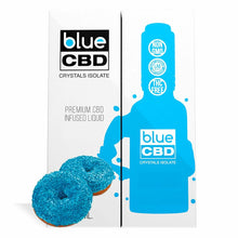 Load image into Gallery viewer, Blue CBD - Tincture Crystal Isolate Oil Blue Donut Flavor 30ml