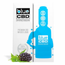 Load image into Gallery viewer, Blue CBD - Tincture Crystal Isolate Oil Boysenberry Flavor 30ml