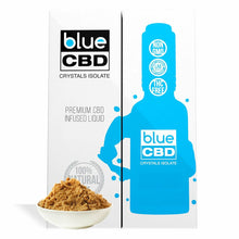 Load image into Gallery viewer, Blue CBD - Tincture Crystal Isolate Oil Brown Sugar Flavor 30ml