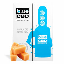 Load image into Gallery viewer, Blue CBD - Tinctures Crystal Isolate Oil Butterscotch Flavor 30ml