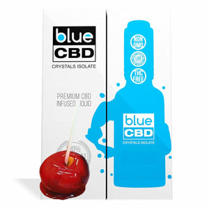 Blue CBD - Tincture Crystal Isolate Oil Candy Apple Flavor 30ml
