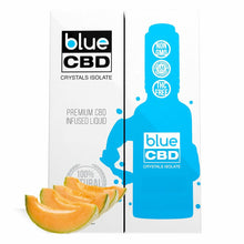 Load image into Gallery viewer, Blue CBD - Tincture Crystal Isolate Oil Cantaloupe Flavor 30ml