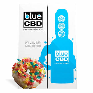 Blue CBD - Tincture Crystal Isolate Oil Cereal Coated Donut Flavor 30ml
