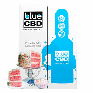 Blue CBD - Tincture Crystal Isolate Oil Cereal Supreme Flavor 30ml