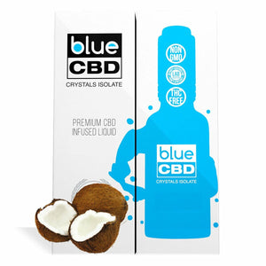 Blue CBD - Tincture Crystal Isolate Oil Coconut Flavor 30ml