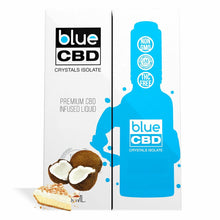 Load image into Gallery viewer, Blue CBD - Tincture Crystal Isolate Oil Coconut Cream Pie Flavor 30ml