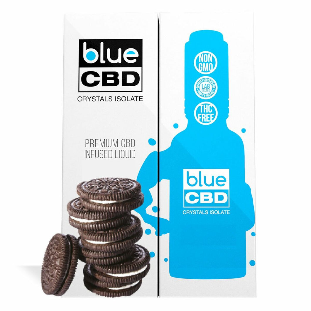 Blue CBD - Tincture Crystal Isolate Oil Cookies and Cream Flavor 30ml