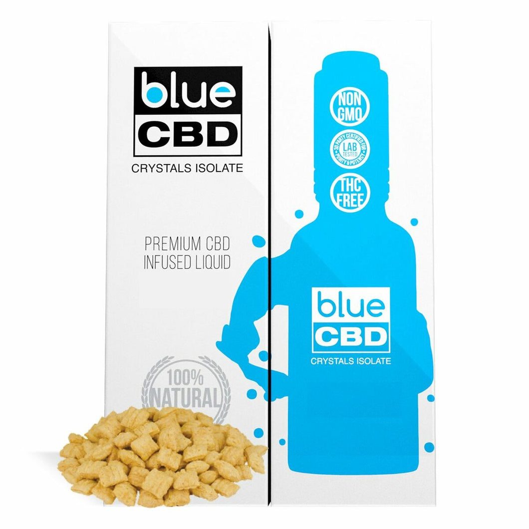 Blue CBD - Tincture Crystal Isolate Oil Crunch Cereal Flavor 30ml