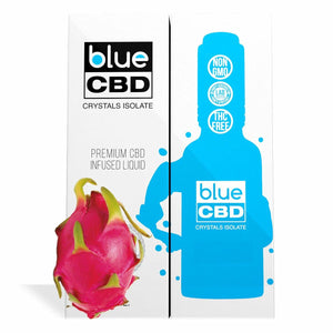 Blue CBD - Tincture Crystal Isolate Oil Dragon Fruit Flavor 30ml