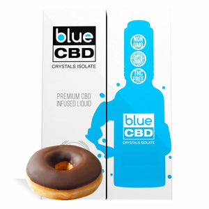 Blue CBD - Tincture Crystal Isolate Oil Frosted Donut Flavor 30ml