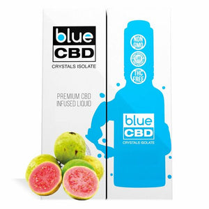 Blue CBD - Tincture Crystal Isolate Oil Guava Flavor 30ml