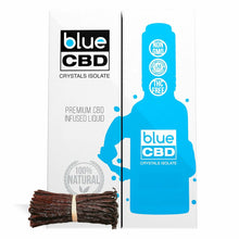 Load image into Gallery viewer, Blue CBD - Tincture Crystal Isolate Oil Madagascar Vanilla Flavor 30ml