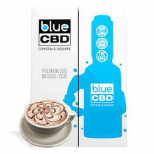 Load image into Gallery viewer, Blue CBD - Tincture Crystal Isolate Oil Mocha Flavor 30ml
