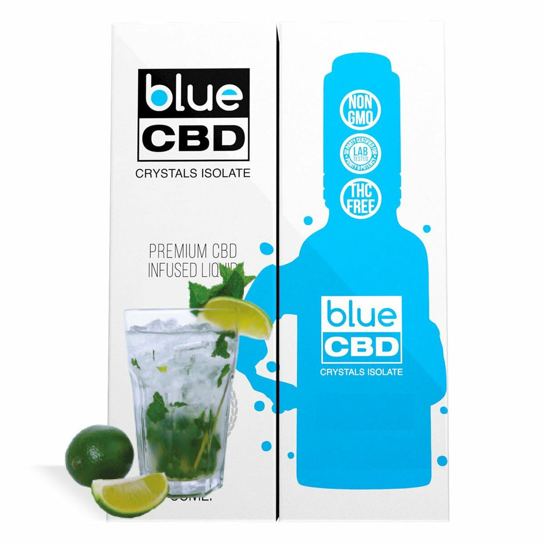 Blue CBD - Tincture Crystal Isolate Oil Mojito Flavor 30ml
