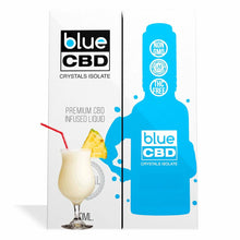 Load image into Gallery viewer, Blue CBD - Tincture Crystal Isolate Oil Piña Colada Flavor 30ml