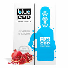 Load image into Gallery viewer, Blue CBD - Tincture Crystal Isolate Oil Pomegranate Flavor 30ml